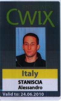 Foto badge cwix 2010