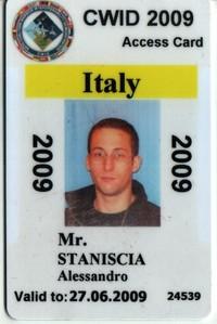 Foto badge CWIX 2009