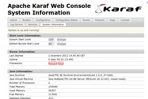 Apache Karaf Web Console