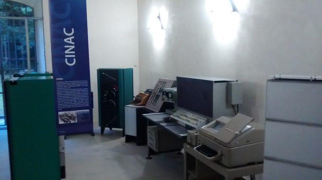 CINAC (Calcolatrice dell'INAC - Elea 9104 )